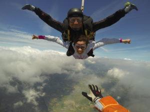 Le saut en Tandem à L'EFPLB